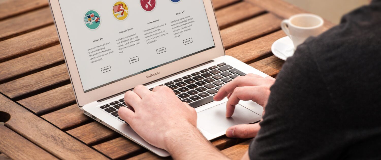 navegacion en el sitio web de tu firma