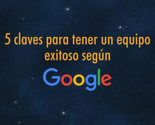 Equipo exitoso Google