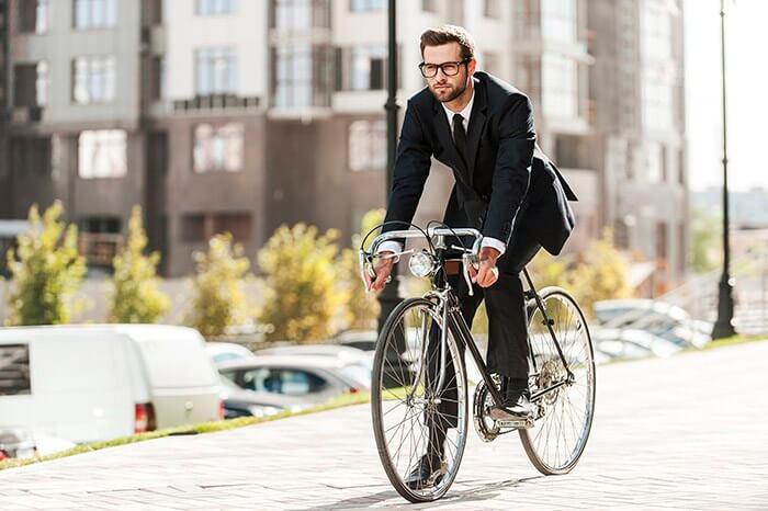 ¿Ir en bicicleta al trabajo?
