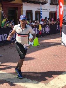 Sergio león participo en el Iron Man Cartagena 70.3