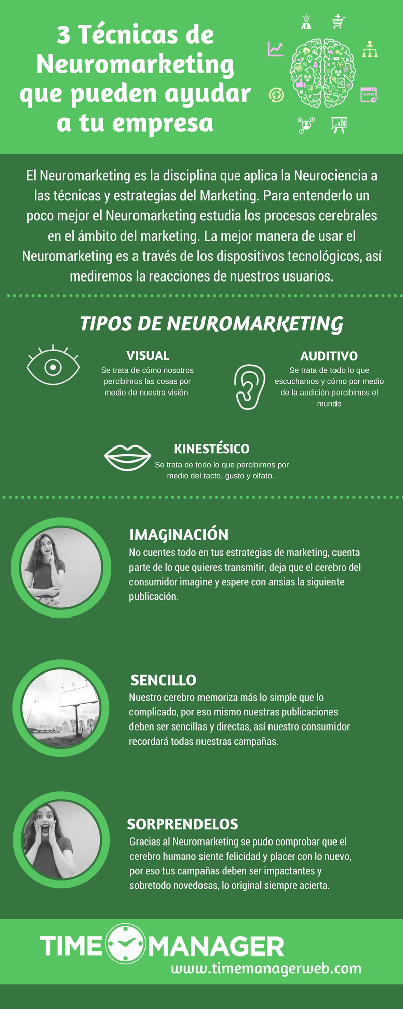 3 Técnicas de neuromarketing que puede ayudar a tu empresa